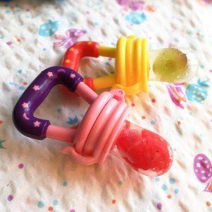 Alimentador Infantil / Chupeta Para Alimentação Do Bebê De Silicone 2